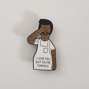 🐢2/$15 Bob Belcher I Love You But Pin